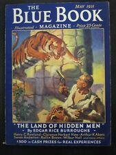"Blue Book - High Grade Set of Burroughs ""Land of Hidden Men"""