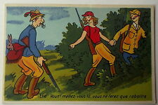 Carte postale Chasse chasseur  humour Gaby Artaud    postcard