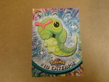 POKEMON CARD / TOPPS SERIES 1 (1999). CATERPIE N° 10
