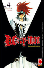 MC225 - Planet Manga - D Gray Man 4 - Ristampa - Nuovo !!!