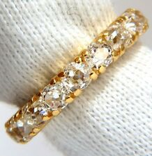 $5000 2.00ct NATURAL CUSHION CUT OLD MINERS HALFWAY DIAMONDS BAND