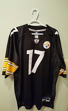 Pittsburgh Steelers Mike Wallace XXL Black & Yellow Stitched Jersey