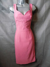 Important Culture Wine Sweetheart Neckline Wiggle Dress Size 8