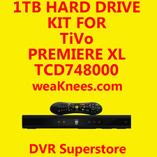 1TB TIVO HARD DRIVE UPGRADE/REPAIR KIT FOR TCD748000 SERIES4 PREMIERE - 6 MO WAR