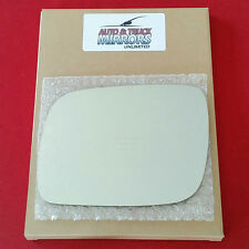 NEW Mirror Glass + ADHESIVE 04-08 TOUAREG Driver Left Side - DIM FIT OVER