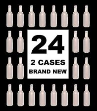 WINE BOTTLES 24 WHITE FROST BORDEAUX BRAND NEW 2 FULL CASES 750ml FROZEN FROSTED