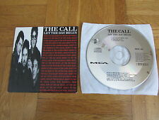 THE CALL Let The Day Begin 1989 UK CD single 80s