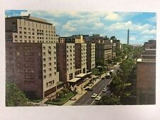The Statler Hilton Hotel on 16th Street, Washington DC Postcard Unused 1950's