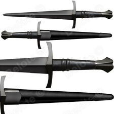 "Cold Steel MAA Italian Dagger Sword 19.5"" Leather Scabbard 1055 Carbon 88ITDM"