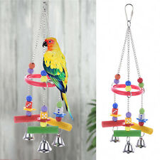 Hot Sell Swing Bird Rope Parrot Toys Cages Triangle Swing Rope Cockatiel Conure