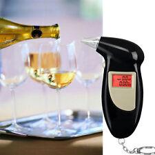 Pro Digital Alcohol Breath Tester Analyzer Breathalyzer Detector Testing QT