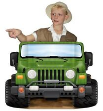 JEEP Jungle SAFARI Birthday Party PHOTO PROP Decoration
