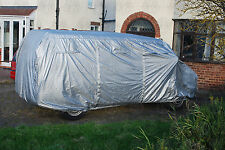 Deluxe Air-vented Silver Van Cover VW Transporter T4 T5 T6 SWB Camper  C9063