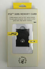 PRO GAMER MEMORY CARD 16MB FOR THE PLAYSTATION 2 / PS2 - BRAND NEW & SEALED