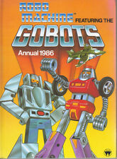 ROBO MACHINE FEATURING GOBOTS ANNUAL 1986 - US TV ANIMATION SERIES - VG/VG+ Cond