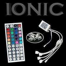 44 Key IR Remote Control DC 12V Wireless 3528 5050 RGB SMD LED Strips 5 Outputs