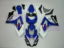 ABS Aftermarket Fairing Set for Suzuki 07 08 1000 GSXR tank pad S01 lu-G