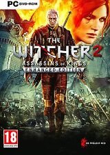 The Witcher 2 - Assassins of Kings - Enhanced Edition For PC (New & Sealed)