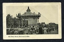 """C1910 View of the """"New"""" Band Stand, Southend-on-Sea, Essex."""