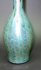 "Superb & Rare 9.75"" LOETZ PHANOMEN Bohemian Art Glass Vase  c. 1902  antique"