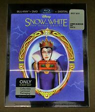 New Disney Snow White & 7 Dwarfs Bluray/DVD Bestbuy Exclusive w/Lenticular Slip