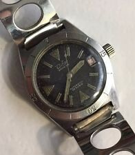 Rare MONTRE AUTOMATIC 25 Rubis. DIFOR GENEVE. Old DIVING Watch. Diver.