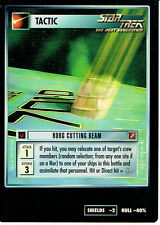 STAR TREK CCG BLAZE OF GLORY VERY RARE FOIL BORG CUTTING BEAM