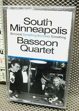 SOUTH MINNEAPOLIS BASSOON QUARTET cassette tape NWT Something Borrowed