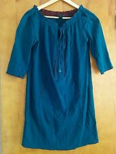 MARC BY MARC JACOBS Tunic Dress XS teal cotton voile coverup boho festival