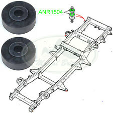 LAND ROVER BODY TO FRAME RUBBER WASHER SET x2 RANGE DISCOVERY RR CL ANR1504 MB