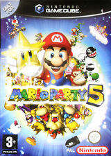 "NINTENDO GAMECUBE ""MARIO PARTY 5""  ALL COMPLETE"