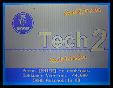 SAAB 44.000 Tech2 Vetronix, OTC, HP, GM Tech 2 Scanner  32MB (1988 - 1998)