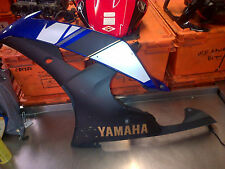 YAMAHA YZF R6 13S LEFT FAIRING PANEL PLASTIC LOWER BELLY PAN