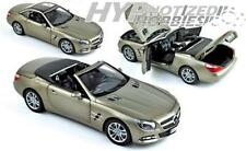 NOREV 1:18 2012 MERCEDES-BENZ SL500 DIE-CAST GREY 183590