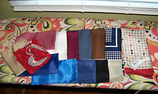 Lot 15 Mens POCKET SQUARES Hankerchiefs Silk ect. Italy France Rodier -NWT   VGC