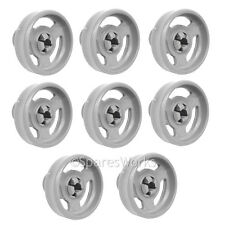 8 x Genuine Baumatic Lower BDW11 BDW13 BDW15 Basket Wheel Dishwasher Wheels