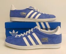 Adidas Originals Gazelle OG Air Force Blue/White Size 12 UK G16183