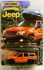 JEEP GRAND CHEROKEE 4X4 WITH RAFT/BOAT JEEP SERIES MATCHBOX DIECAST 2016