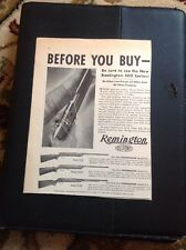 N1-7-7 Ephemera 1940 Remington DuPont Targetmaster USA