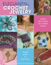 NEW ELEGANT WIRE & BEAD CROCHET JEWELRY BY BASHA KOOLER BOOK GUIDE