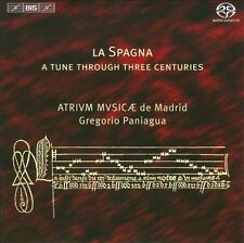 NEW La Spagna: A Tune Through Three Centuries Super Audio Hybrid Cd CD (CD)
