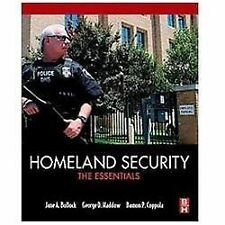 Homeland Security : The Essentials by George Haddow, Jane Bullock and Damon...