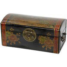 Oriental Furniture Large Flowers Jewelry Box