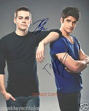 Tyler Posey & Dylan O'Brien Teen Wolf MTV Show RP 11x14 Signed Poster Photo