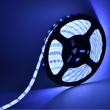 blue 5M 300Leds 5630 SMD Bright Flexible Led Strip Lights Lamp DC 12V