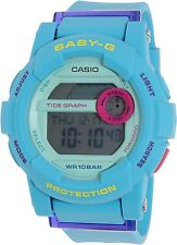 Casio Women's Baby-G BGD180FB-2 Blue Resin Quartz Watch