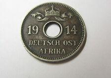 5 Heller 1914 J Deutsch Ostafrika