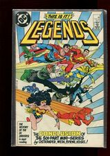 LEGENDS 6 NEWSSTAND EDITION(6.0)(FN)1ST APP POST CRISES-JOHN BYRNE(b030)