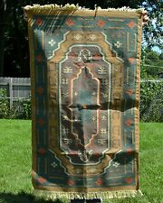 Heavy Hand Knot Double Sided South Western Indian Style Area Throw Rug 3' x 5'