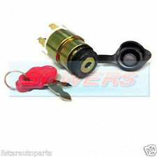 12V VOLT UNIVERSAL BIKE MOTORCYCLE BOAT 4 POSITION IGNITION SWITCH BARREL 2 KEYS